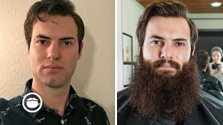 One Year Beard Growth Time-Lapse