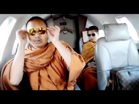 Jet-Setting Thai Monk Wanted on Money Laundering Charges (LinkAsia: 8/2/13)