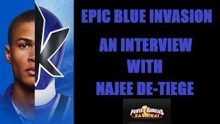 EPIC BLUE INVASION An Interview with: Najee De-Tiege - Epic Comics in Orlando, Florida