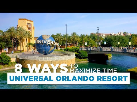 8 Ways to Maximize Time at Universal Orlando Resorts