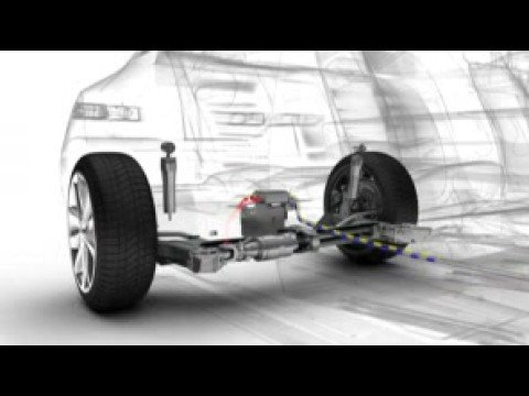Renault Laguna Coupe 4CONTROL: The system explained - YouTube