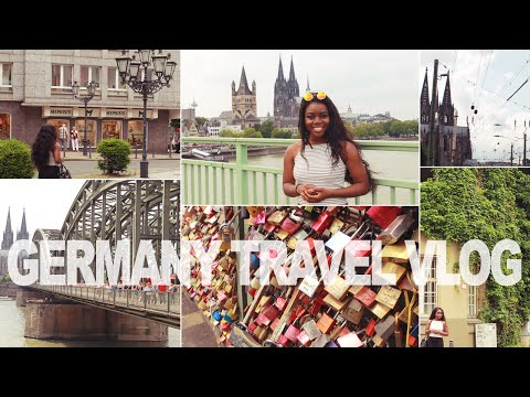 GERMANY TRAVEL VLOG: Essen, Cologne, Düsseldorf