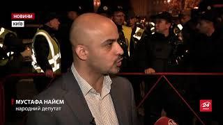Зустріч народних депутатів  і Порошенка зірвалась