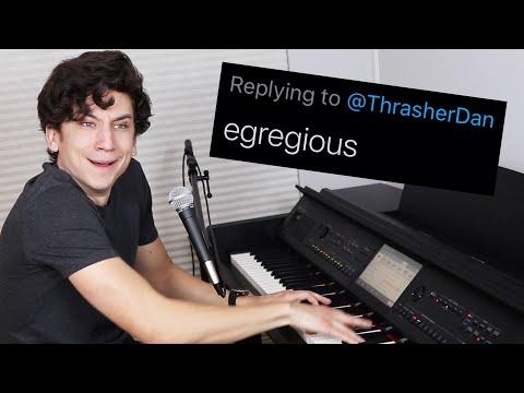 musical musings on words you gave me - Daniel Thrasher