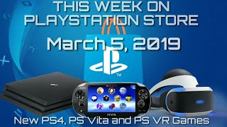 Download Video New PS4, PS VR and PS Vita Games for March 5th, 2019 MP3 3GP MP4
