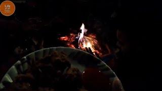 Bonfire night at the camp!!