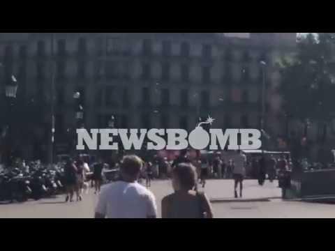 newsbomb.gr: Βαρκελώνη: Οι πρώτες στιγμές μετά την τρομοκρατική επίθεση (1)