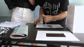 how to install the Dslrk D30 D40 D50 Led soft light photo box