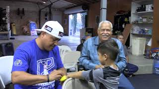 Mikey Garcia Working Out Shadow Boxing EsNews Boxing