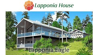 Lapponia Eagle - award winning ecological log homes for healthy living