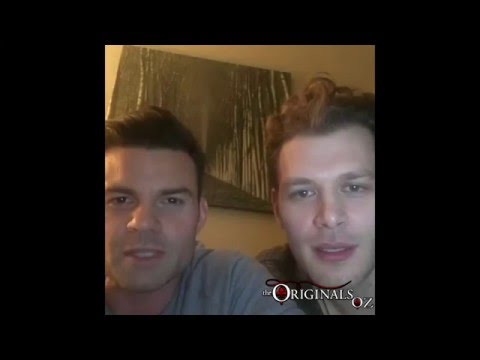 Daniel Gillies & Joseph Morgan Facebook