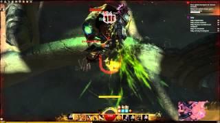 GW2 Sinister Warrior Gigantic Lupicus Solo