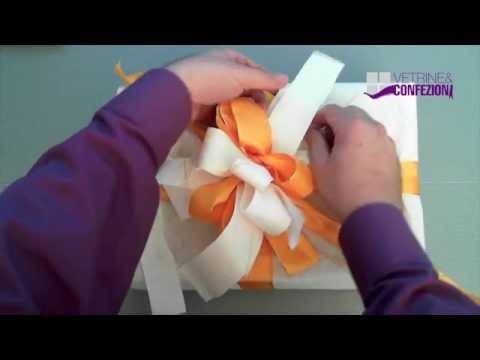 Pacco regalo  usare la carta anche per la coccarda  YouTube