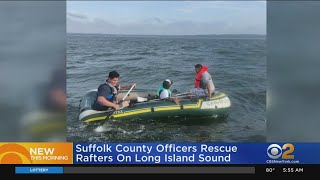 Long Island Sound Raft Rescue