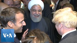 UNGA: France's President Macron to Iran's President Rouhani: You Should Meet with Trump