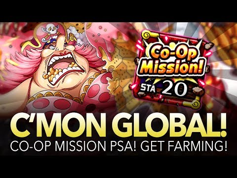 GLOBAL PSA: Farm Co-Op Mission! Get Free Reds!! (ONE PIECE Treasure Cruise)