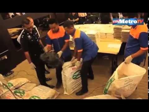 Download Polis rampas ganja RM1.6 juta