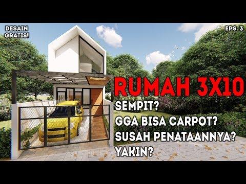 940+ Gambar Desain Rumah Kecil Ukuran 3X10 Gratis Download