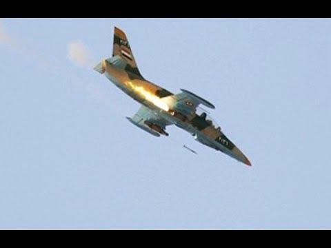 EE:UU derriba un avión de la Fuerza Aérea Siria