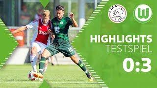 Ajax Amsterdam - VfL Wolfsburg   Highlights + Tore   Testspiel