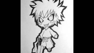 How to Draw Chibi Hollow Ichigo / Hichigo