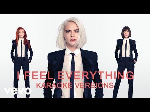 Cara Delevingne - I Feel Everything (Karaoke Version No Vocal)