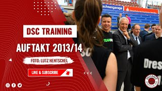 Trainingsauftakt Saison 2013 / 2014 - Dresdner SC Volleyball Damen