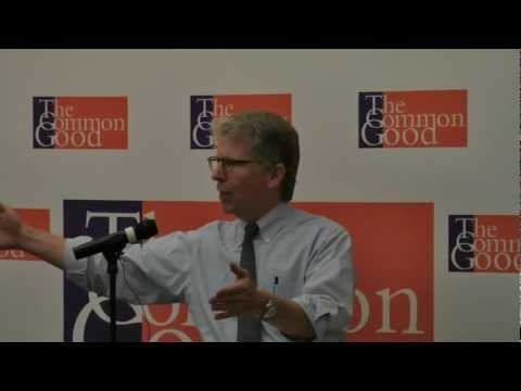 Cy Vance, NYC District Attorney, LIVE at The Common Good, June 5th, 2012