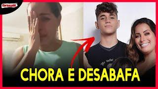 Walkyria Santos DESABAFA E CHORA ao falar da MORT3 do FILHO de 16 anos e revela o real motivo