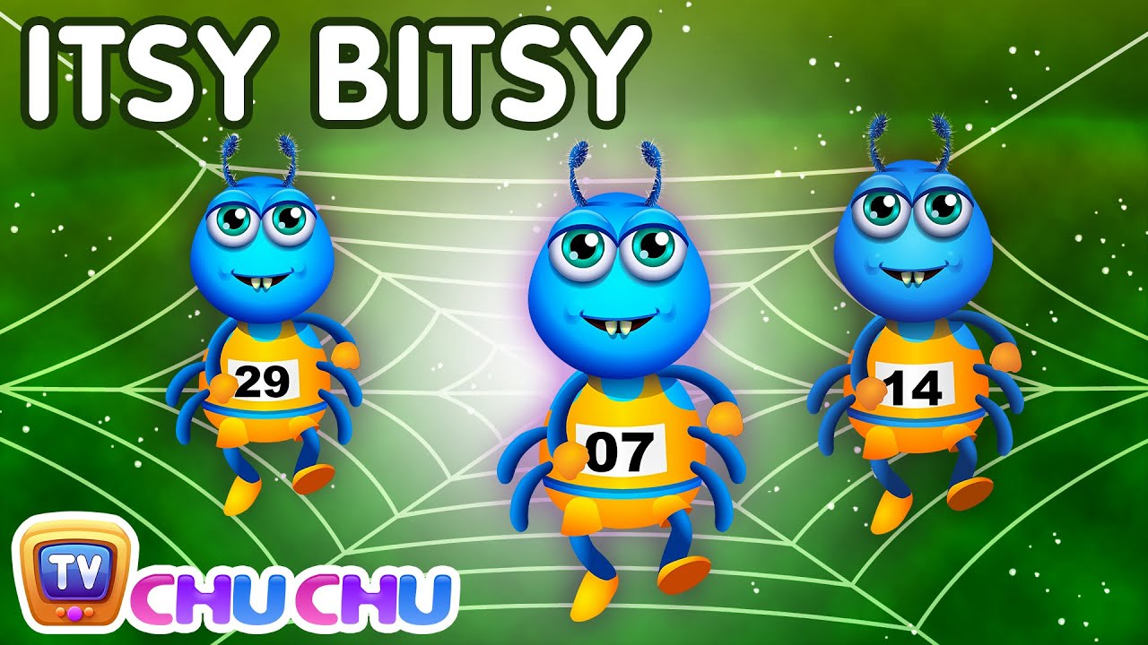 Itsy Bitsy Spider Nursery ChuChu Tv Rhymes