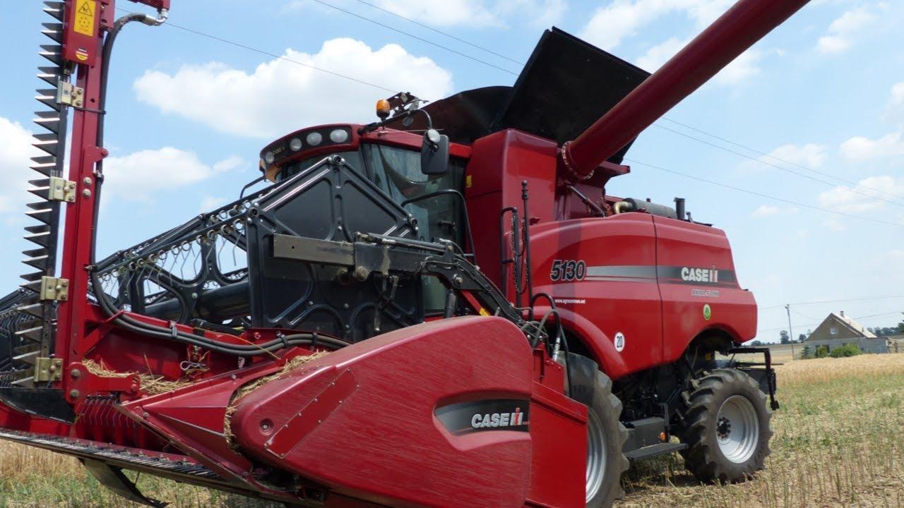 Download Żniwa 2018! John Deere 6170r  Case Axial Flow 5130  2x Zasław   RZEPAK! RAPE Harvest!