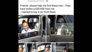 Vehicle Fraudster Panics, Pleads With Victim To Pull Down Social Media Posts