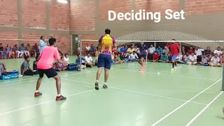 LOKESH NAZEER Vs SREEJITH BENNET Semifinal Men's Doubles Anitha Parthiban Badminton Tournament 2020
