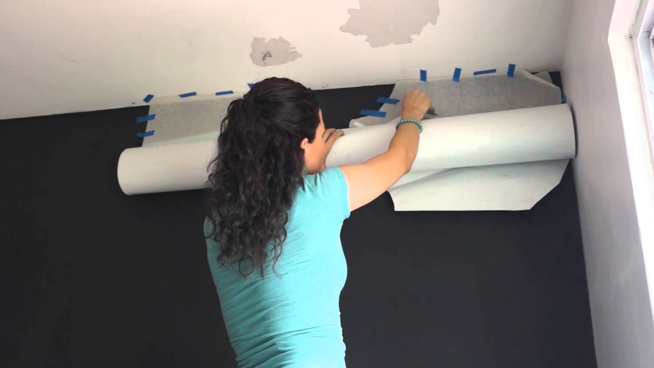 Diy c mo colocar un vinilo grande en la pared hazlo t mismo youtube - Pegar vinilo en pared ...