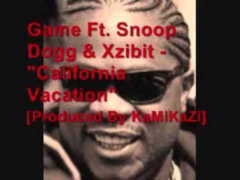 Game ft Snoop Dogg, Xzibit  California Vacati Inst Reprod  KRAW