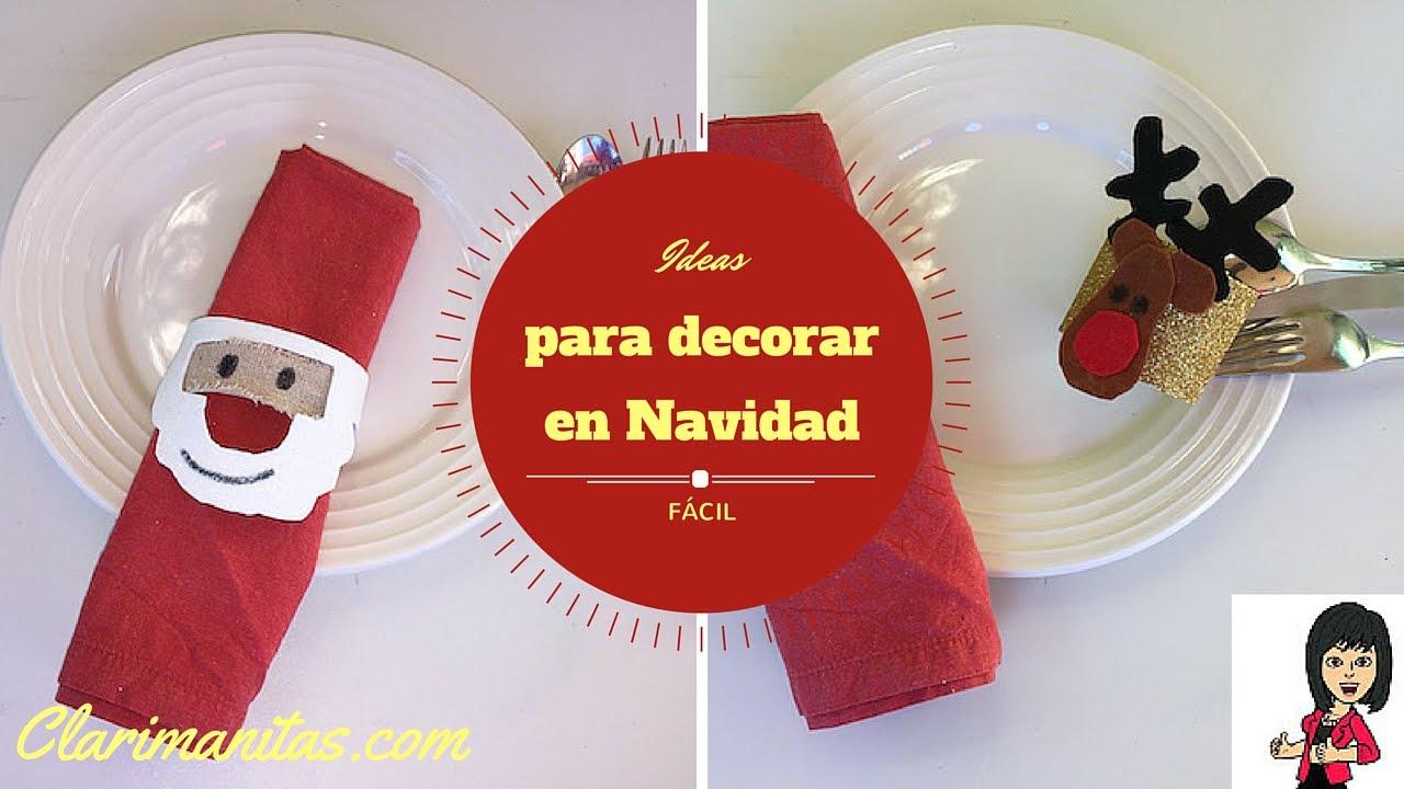 Ideas para decorar en navidad youtube - Navidad ideas para decorar ...
