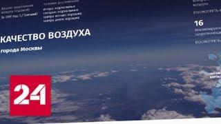 О качестве воздуха в столице можно узнать онлайн - Россия 24