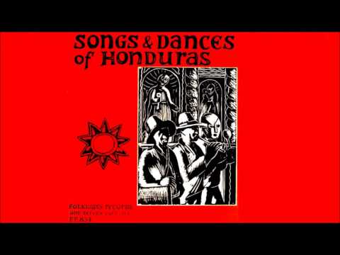 Songs & Dances of Honduras (1955, vinyl)