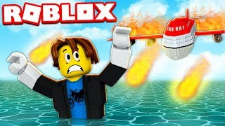 Survivre au Crash d'un Avion ! Roblox