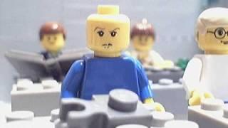 Napoleon Dynamite in Lego
