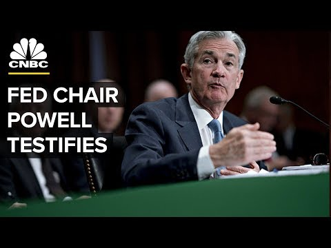 LIVE: Jerome Powell testifies before Senate Banking Committee - July 17, 2018