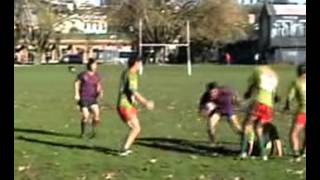 Copy of Funny Rugby League try - good bump, shit tackles