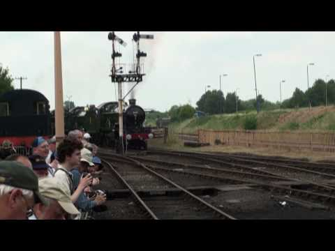 Tyseley Open Day 2010 including Great Western Locomotive Cavalcade