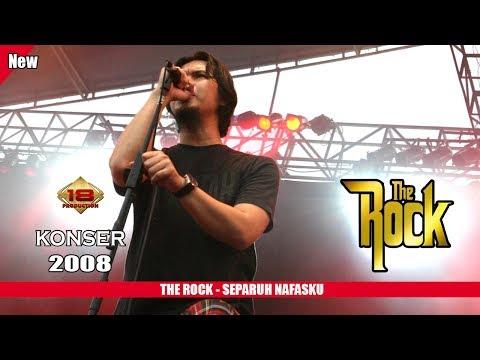 THE ROCK INDONESIA - SEPARUH NAFASKU (LIVE KONSER MALANG 2008)
