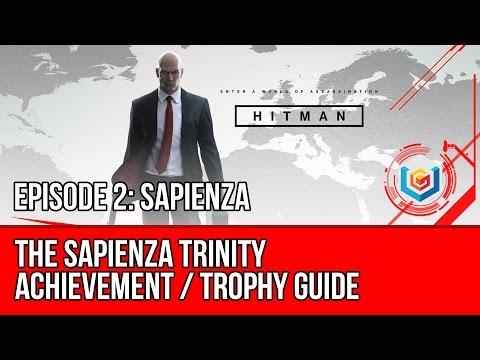 Hitman - The Sapienza Trinity Achievement / Trophy Guide (Therapy, Error Plane, An Eye for an Eye)