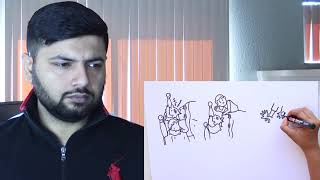 A Pakistani Reacts to Mumbiker Nikhil | Draw My Life