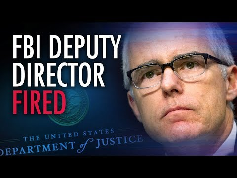 "Andrew McCabe faces ""devastating"" financial loss after firing 