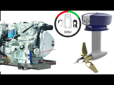 #25 Diesel Engines or Electric Motors for Our Catamaran   Sailing Sisu in Cape Town South Africa