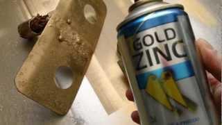 GOLD ZINC zinek ve spreji pro ochranu kovů před korozí