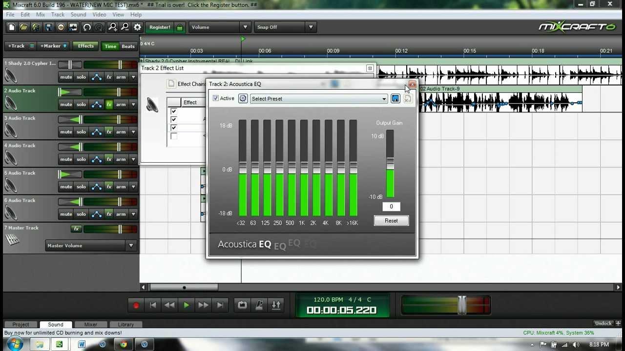 Acoustica 31 Band Eq Downloader